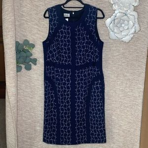 [jm Collection] Sleeveless Structured Dress NWOT